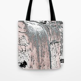"series waterfall ""Cachoeira Grande"" IV Tote Bag"