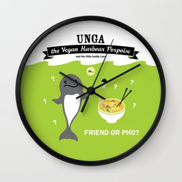 Friend or Pho? Wall Clock