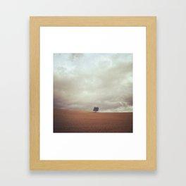 Camino Tree Framed Art Print