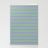 monsters inc Stationery Cards featuring Monsters, Inc. Circle Pattern by Jennifer Agu