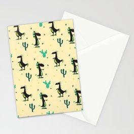 Cute Desert Dinosaurs Stationery Cards