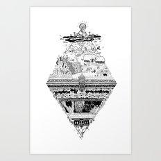 Olympe | Enfer Art Print