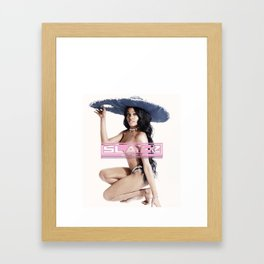 Slay-Z Framed Art Print