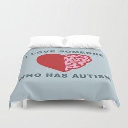 Autism Love Duvet Cover