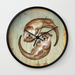 OTTERs over Praha Wall Clock