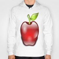 apple Hoodies featuring APPLE by Acus