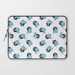 Bird Waiter Pattern Laptop Sleeve