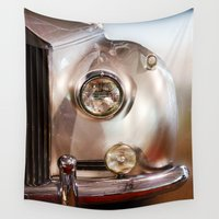 silver Wall Tapestries featuring Silver by Lia Bernini