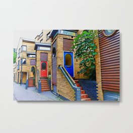 Stairs to Nowhere  -  Greenwich London Metal Print