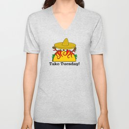Tako Tuesday Unisex V-Neck