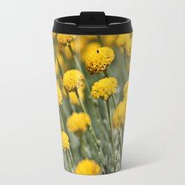 Santolina Grey Travel Mug
