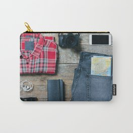 Get ready for the trip. Man edition Carry-All Pouch