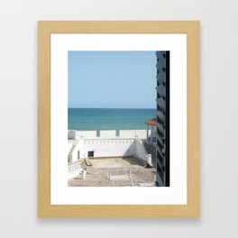 Oceanview Framed Art Print