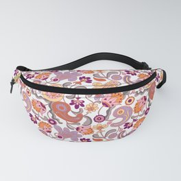 Pastel Paisleys Fanny Pack