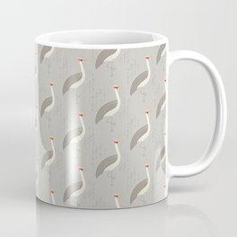 Brolga | Pattern Coffee Mug