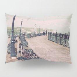 Swanage Pier Antique Pillow Sham