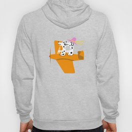 Airplane and Dalmatians Hoody