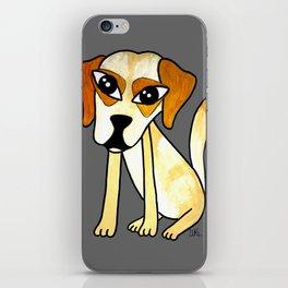Yara, the clever dog iPhone Skin
