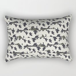 Pattern all cows Rectangular Pillow