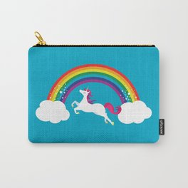 Unicorn Rainbow in the Sky Carry-All Pouch