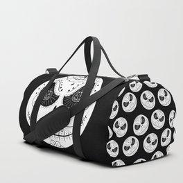 Jack's Skull Sugar (Vector Mexican Skull) Duffle Bag
