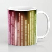 lights Mugs featuring Lights by Jason Michael