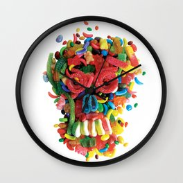 Death and Tooth Decay Wall Clock
