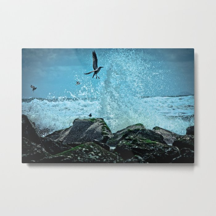 Thrill Seeker Metal Print
