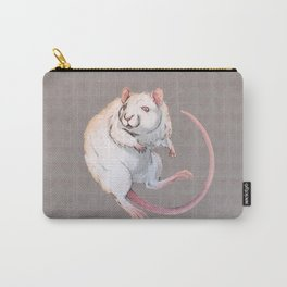 Albino Rat Carry-All Pouch