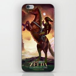Ocarina of Time: Twenty Years iPhone Skin