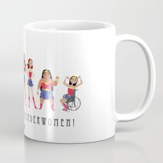 We Are All Wonderwomen! Mug