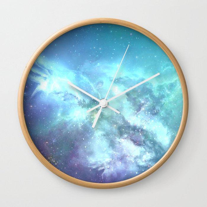 Endless ocean Wall Clock