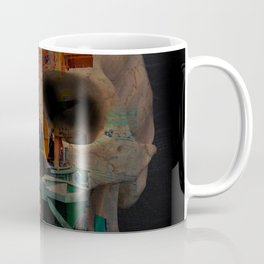 Skull machine Coffee Mug