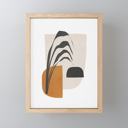 Abstract Shapes 3 Framed Mini Art Print