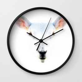 The White Sheep By Sharon Cummings Wall Clock