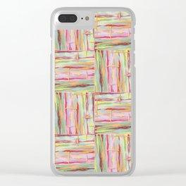 Stride Tie-Dye Weave Clear iPhone Case