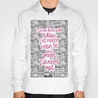 cities Hoodies featuring Cities by Raphaella Martelino