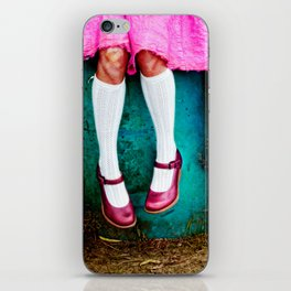 I am so girly iPhone Skin
