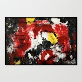 Fire Wall Canvas Print