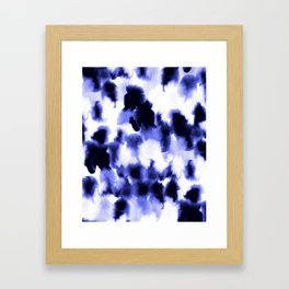 Kindred Spirits Blue Framed Art Print
