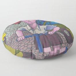 Scooter Boy Floor Pillow