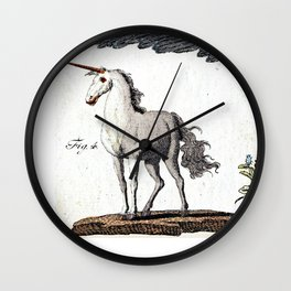 Mythical Creatures Wall Clock