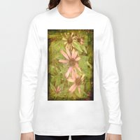 vintage flowers Long Sleeve T-shirts featuring Vintage Flowers by Vitta