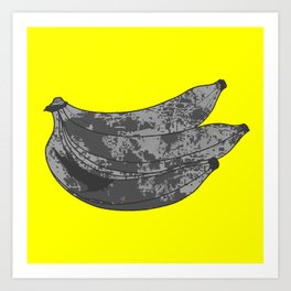 I'VE GONE BANANAS Art Print