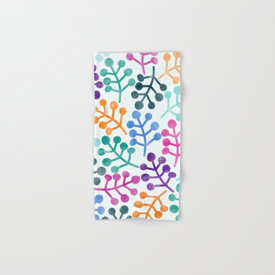Flower Pattern IV Hand & Bath Towel
