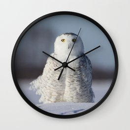 Saint Snowy Wall Clock