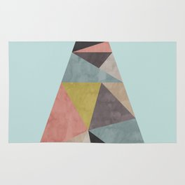 Minimalist and geometric stone III Rug