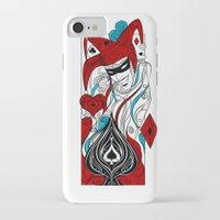 the joker iPhone & iPod Cases featuring JOKER by taniavisual