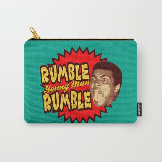 Rumble Young Man Rumble  |  Ali Carry-All Pouch