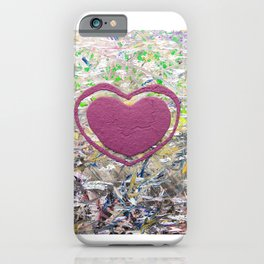 A Scattered Brain Full of Heart 1  iPhone Case